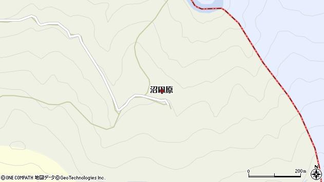 〒637-1101 奈良県吉野郡十津川村沼田原の地図