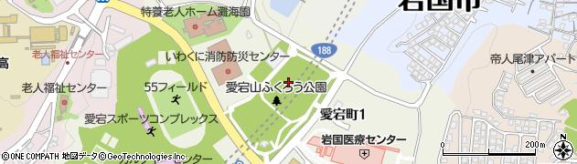 愛宕山トンネル周辺の地図