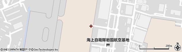 山口県岩国市三角町周辺の地図