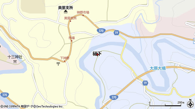 〒640-1242 和歌山県海草郡紀美野町樋下の地図