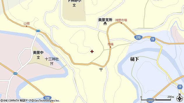 〒640-1243 和歌山県海草郡紀美野町神野市場の地図