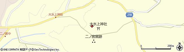 大水上神社周辺の地図