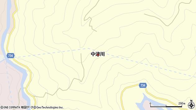 〒648-0303 奈良県吉野郡野迫川村中津川の地図