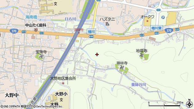 〒642-0028 和歌山県海南市幡川の地図