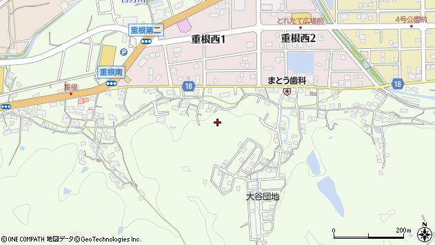 〒642-0023 和歌山県海南市重根の地図