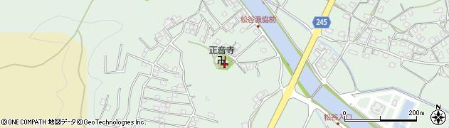正音寺周辺の地図