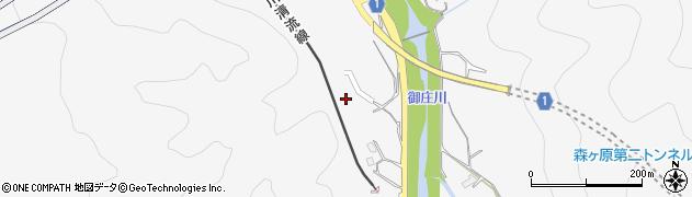 山口県岩国市御庄(西氏)周辺の地図