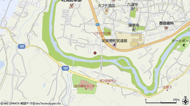 〒640-1121 和歌山県海草郡紀美野町下佐々の地図