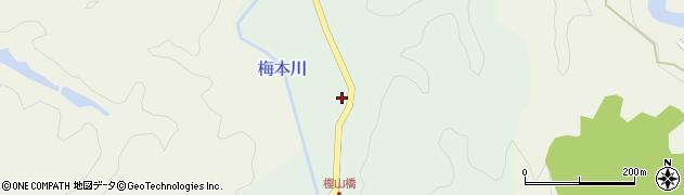 和歌山県海草郡紀美野町福井周辺の地図