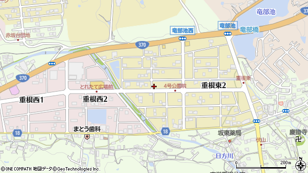 〒642-0018 和歌山県海南市重根東の地図
