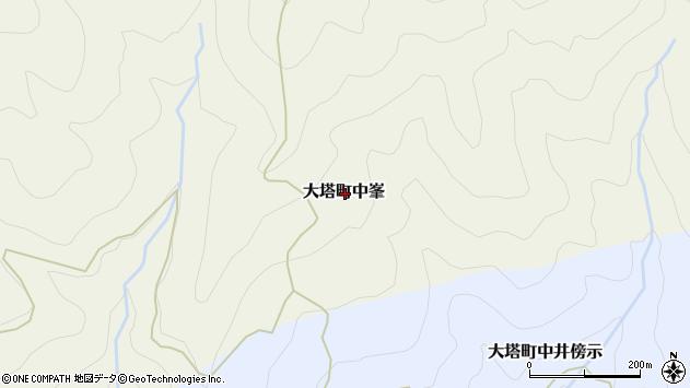 〒637-0404 奈良県五條市大塔町中峯の地図