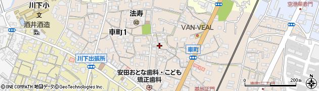 山口県岩国市車町周辺の地図