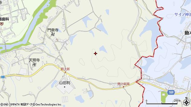 〒640-1161 和歌山県海南市野上新の地図