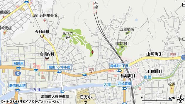 〒642-0002 和歌山県海南市日方の地図