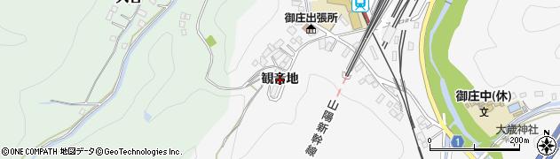 山口県岩国市御庄(観音地)周辺の地図