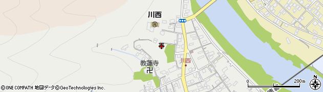 大師院周辺の地図