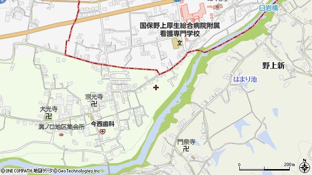 〒640-1172 和歌山県海南市溝ノ口の地図