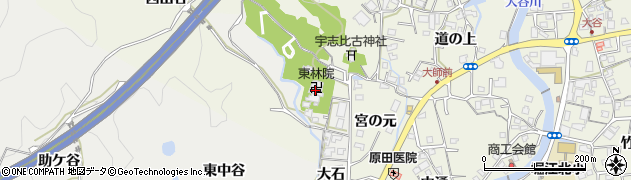 東林院周辺の地図