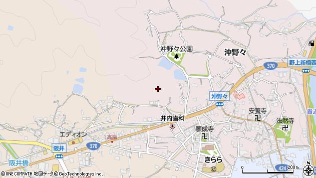 〒640-1175 和歌山県海南市沖野々の地図
