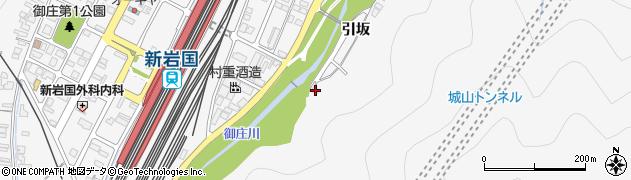 山口県岩国市御庄引坂873周辺の地図