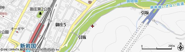 山口県岩国市御庄引坂周辺の地図