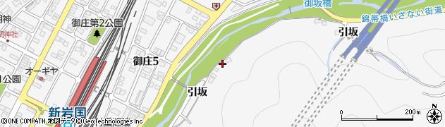 山口県岩国市御庄(引坂)周辺の地図