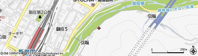 山口県岩国市御庄引坂830周辺の地図