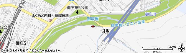 山口県岩国市御庄引坂631周辺の地図