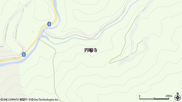 〒640-1353 和歌山県海草郡紀美野町円明寺の地図