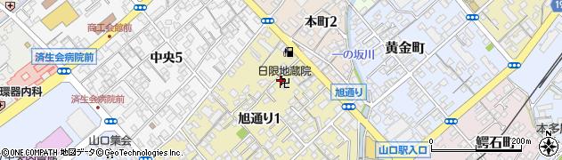 日限地蔵院周辺の地図