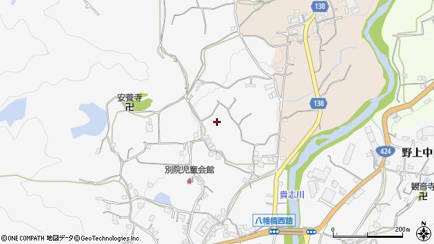 〒640-0454 和歌山県海南市別院の地図