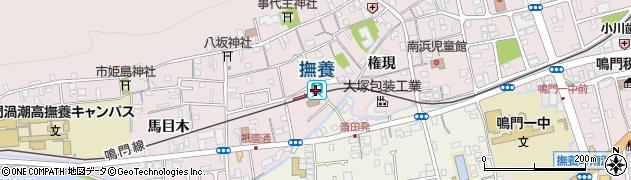 徳島県鳴門市周辺の地図