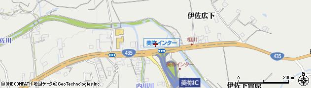 山口県美祢市伊佐町伊佐周辺の地図