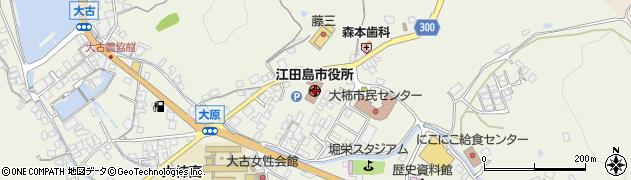 広島県江田島市周辺の地図