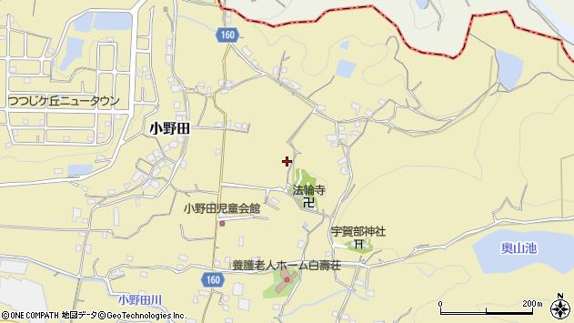 〒642-0014 和歌山県海南市小野田の地図