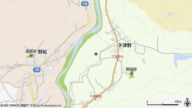 〒640-0443 和歌山県海南市下津野の地図