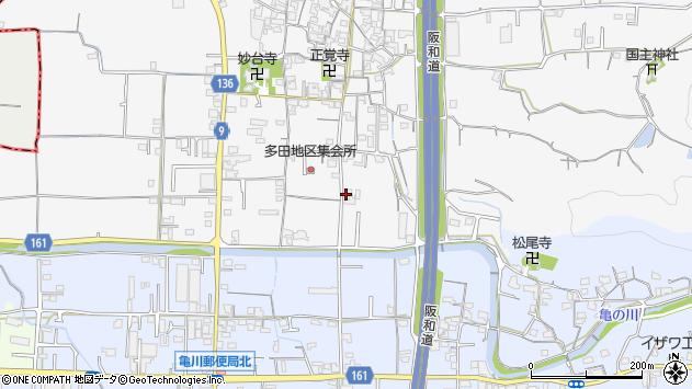 〒642-0013 和歌山県海南市多田の地図