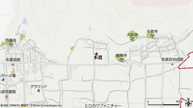 〒640-0324 和歌山県和歌山市本渡の地図