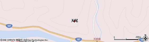 山口県岩国市天尾周辺の地図