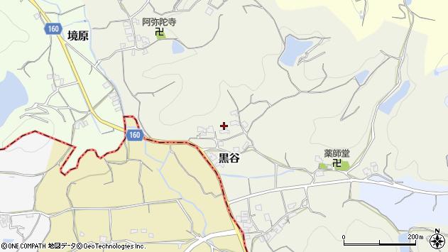 〒640-0312 和歌山県和歌山市黒谷の地図