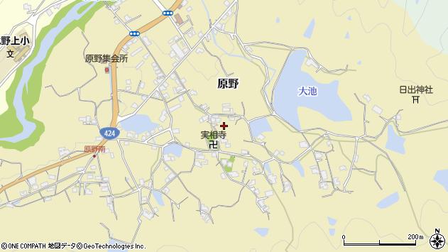 〒640-0442 和歌山県海南市原野の地図