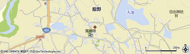 和歌山県海南市原野周辺の地図