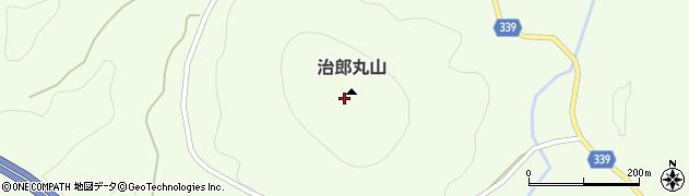 治郎丸山周辺の地図