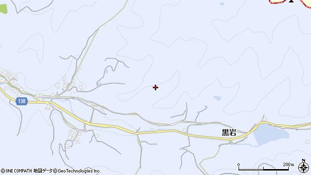 〒640-0311 和歌山県和歌山市黒岩の地図
