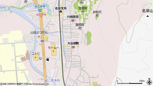 〒641-0012 和歌山県和歌山市紀三井寺の地図