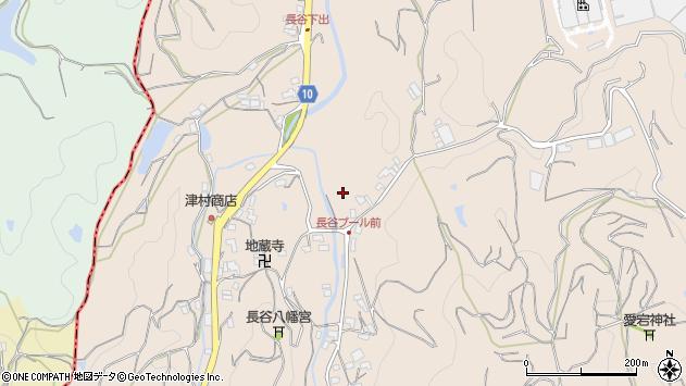 〒640-1101 和歌山県海草郡紀美野町長谷の地図