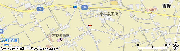 香川県仲多度郡まんのう町吉野旭東中周辺の地図