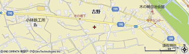香川県仲多度郡まんのう町吉野旭東上周辺の地図