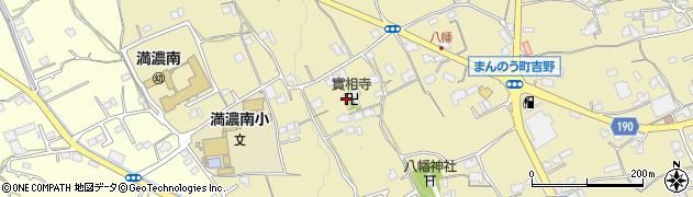 実相寺周辺の地図
