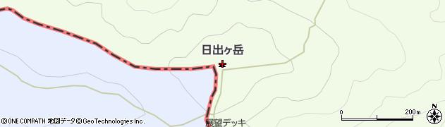 日出ケ岳周辺の地図
